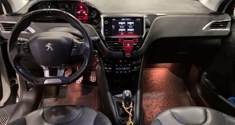 Peugeot 208 1.2 THP 110Cv GT LINE Blanc occasion à Bastia - photo n°4