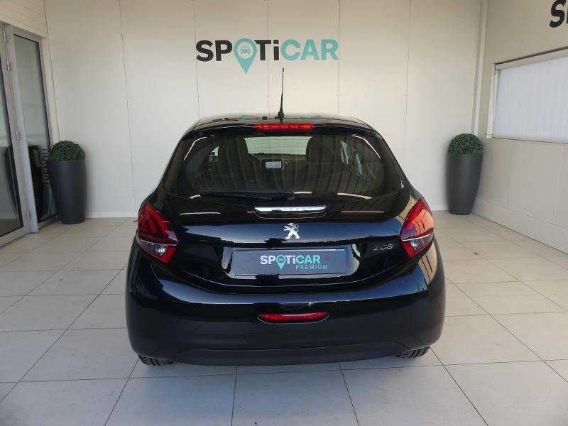 Peugeot 208 1.5 BlueHDi 100ch E6.c Active Business S&S 5p Noir occasion à Quimperlé - photo n°5