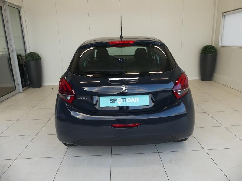 Peugeot 208 1.5 BlueHDi 100ch E6.c Active BVM5 86g 5p Gris occasion à Quimperlé - photo n°5