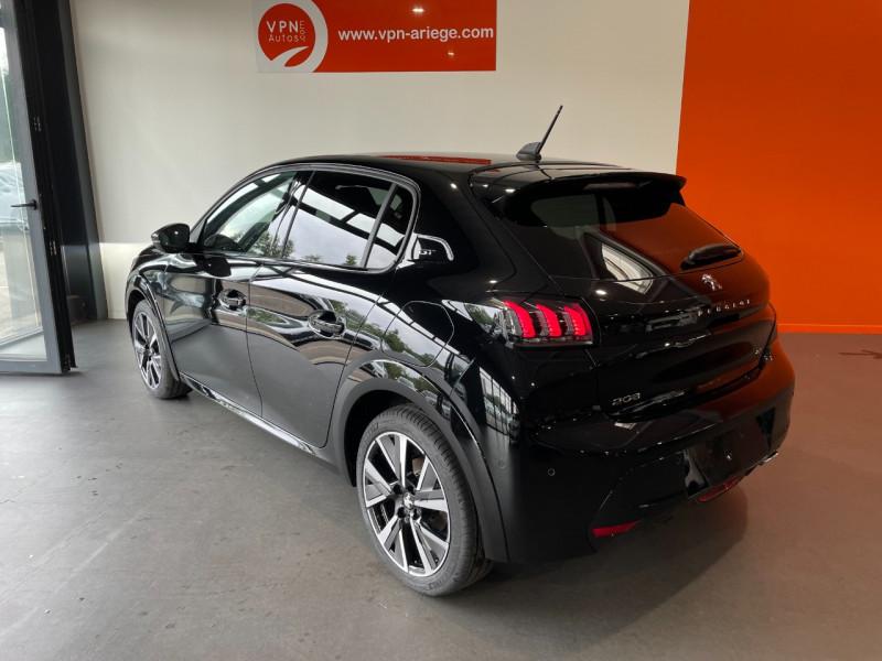 Peugeot 208 1.5 BLUEHDI 100CH E6.C GT LINE S&S 5P  occasion à Foix - photo n°3