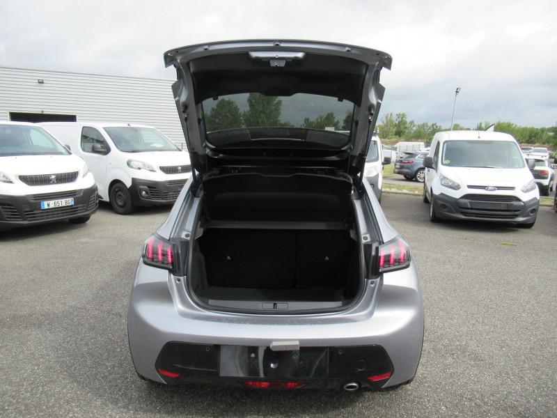 Peugeot 208 1.5 BLUEHDI 100CH S&S GT PACK Gris occasion à Labège - photo n°8