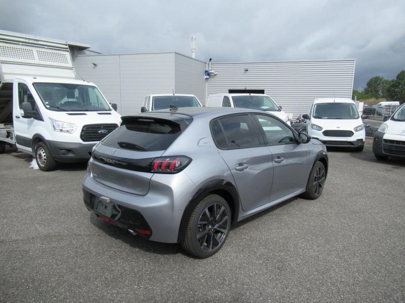 Peugeot 208 1.5 BLUEHDI 100CH S&S GT PACK Gris occasion à Labège - photo n°6