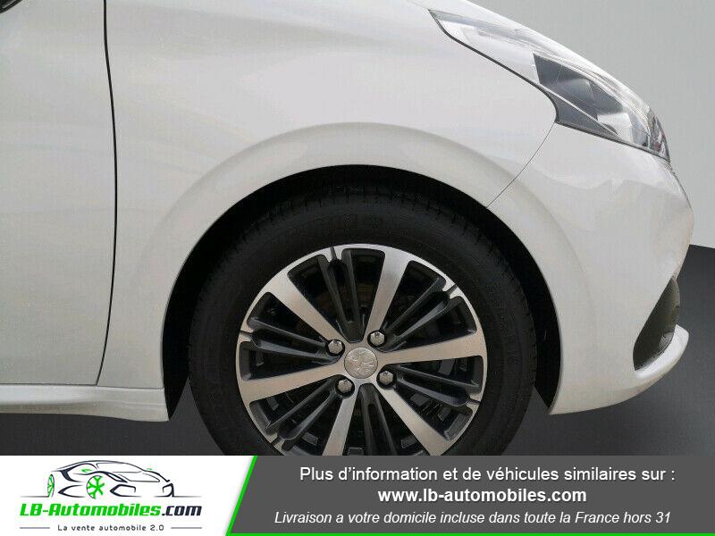 Peugeot 208 1.6 BlueHDi 100 Blanc occasion à Beaupuy - photo n°8
