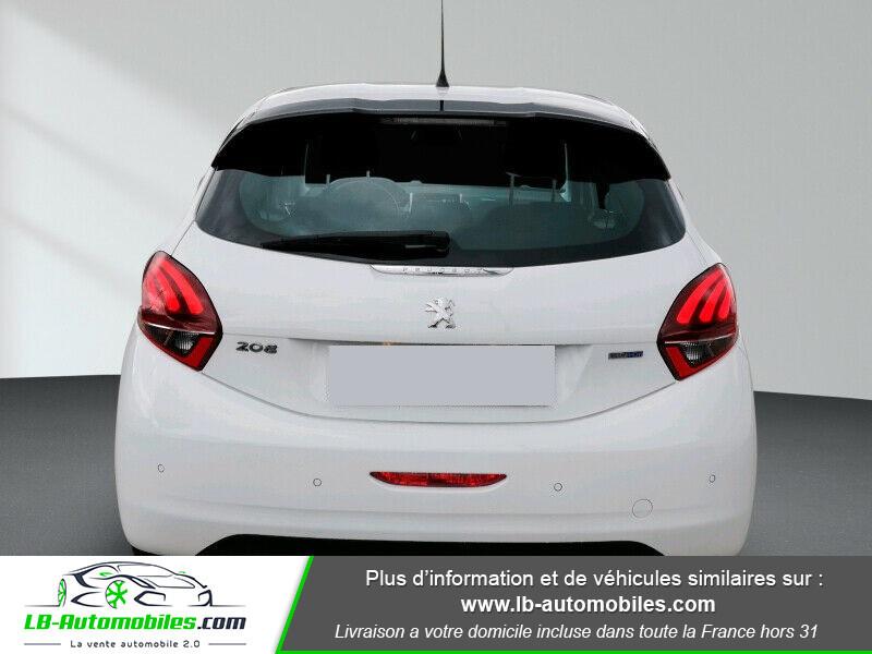 Peugeot 208 1.6 BlueHDi 100 Blanc occasion à Beaupuy - photo n°6