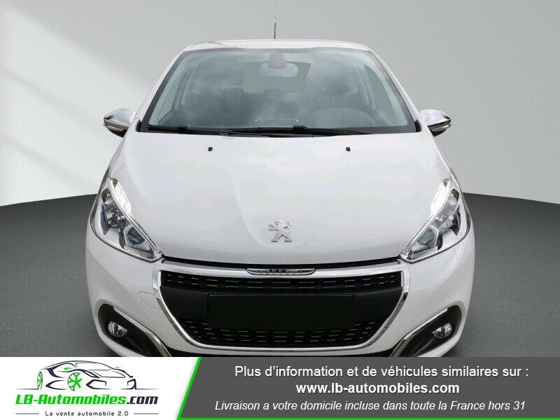 Peugeot 208 1.6 BlueHDi 100 Blanc occasion à Beaupuy - photo n°4