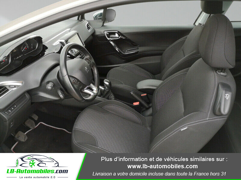 Peugeot 208 1.6 BlueHDi 100 Blanc occasion à Beaupuy - photo n°3