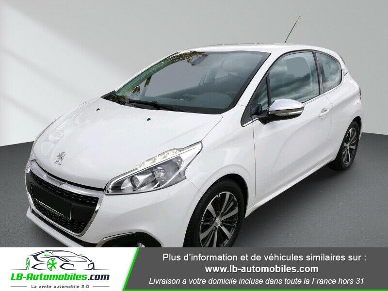 Peugeot 208 1.6 BlueHDi 100 Blanc occasion à Beaupuy