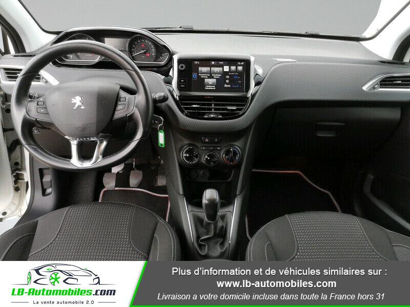 Peugeot 208 1.6 BlueHDi 100 Blanc occasion à Beaupuy - photo n°2
