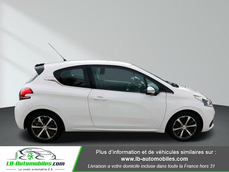Peugeot 208 1.6 BlueHDi 100 Blanc occasion à Beaupuy - photo n°7