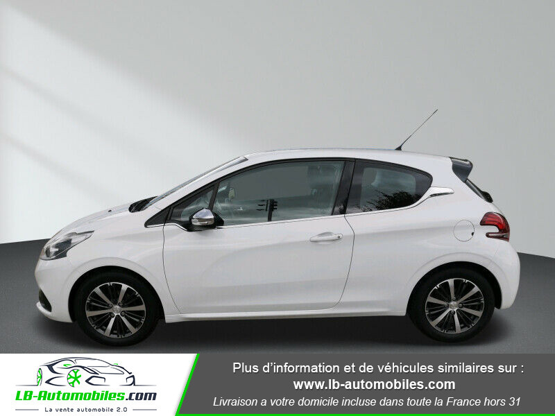 Peugeot 208 1.6 BlueHDi 100 Blanc occasion à Beaupuy - photo n°5