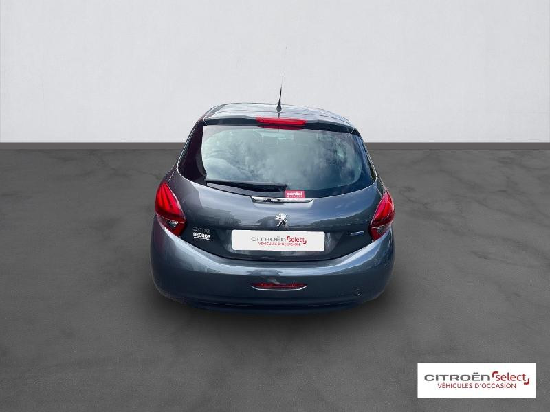 Peugeot 208 1.6 BlueHDi 100ch Active 5p Gris occasion à Figeac - photo n°5
