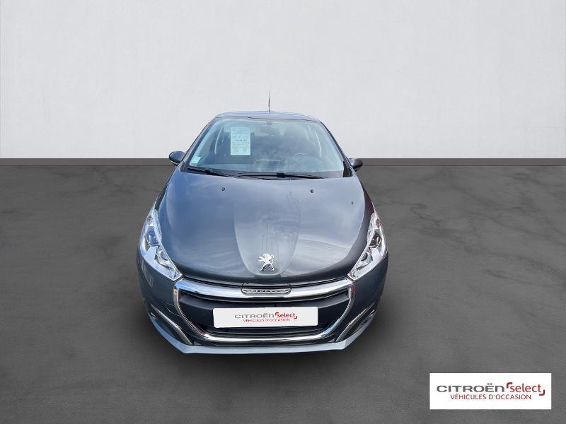 Peugeot 208 1.6 BlueHDi 100ch Active 5p Gris occasion à Figeac - photo n°2