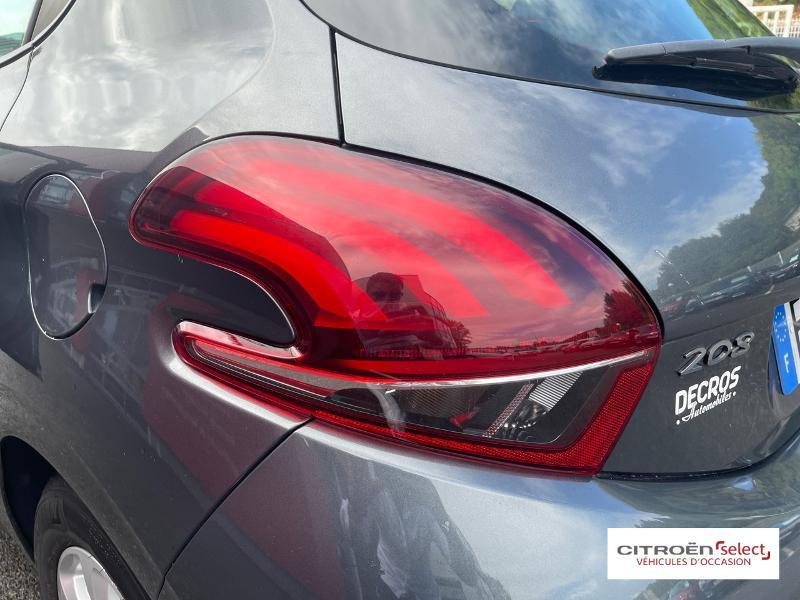 Peugeot 208 1.6 BlueHDi 100ch Active 5p Gris occasion à Figeac - photo n°16