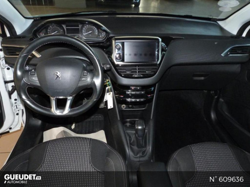 Peugeot 208 1.6 BlueHDi 100ch Allure 5p Blanc occasion à Meaux - photo n°9