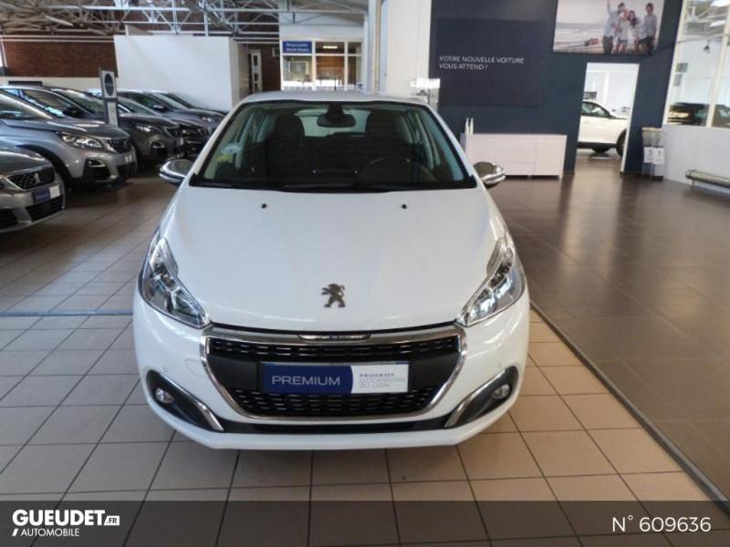 Peugeot 208 1.6 BlueHDi 100ch Allure 5p Blanc occasion à Meaux - photo n°3