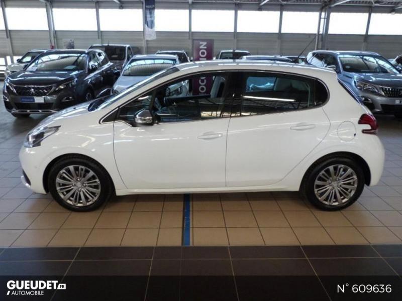 Peugeot 208 1.6 BlueHDi 100ch Allure 5p Blanc occasion à Meaux - photo n°16