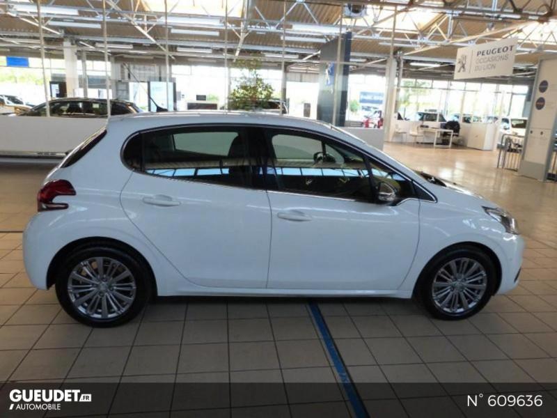 Peugeot 208 1.6 BlueHDi 100ch Allure 5p Blanc occasion à Meaux - photo n°4