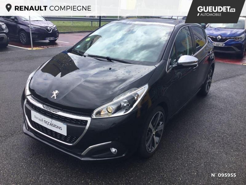 Peugeot 208 1.6 BlueHDi 100ch Féline 5p Gris occasion à Compiègne