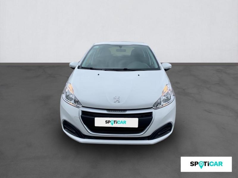 Peugeot 208 1.6 BLUEHDI 75 BVM5 PREMIUM Blanc occasion à VILLEFRANCHE DE ROUERGUE - photo n°2