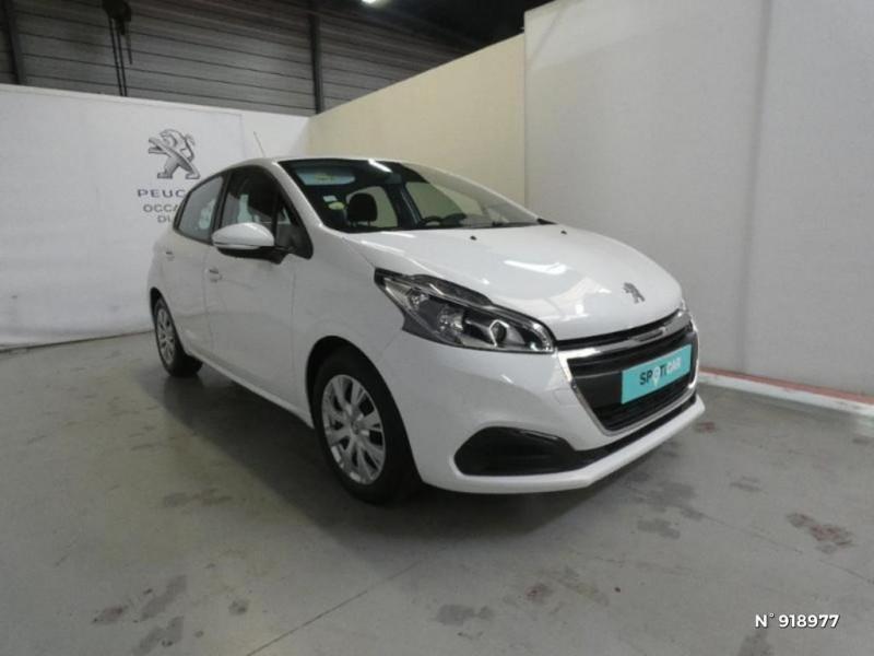 Peugeot 208 1.6 BlueHDi 75ch Active 5p Blanc occasion à Cesson - photo n°2