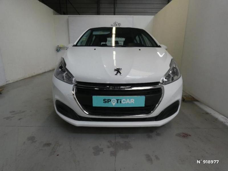 Peugeot 208 1.6 BlueHDi 75ch Active 5p Blanc occasion à Cesson - photo n°3