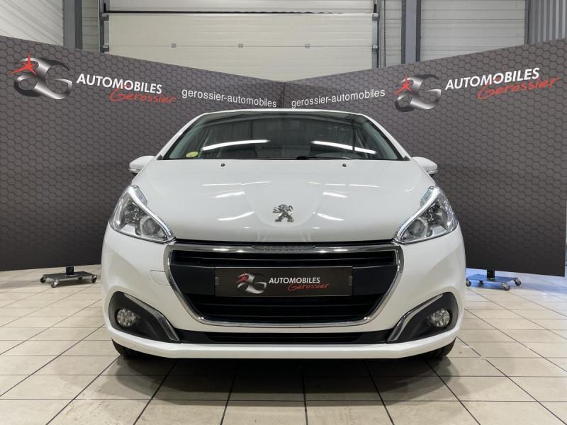 Peugeot 208 1.6 BlueHDi S&S - 100  BERLINE Active Business PHASE 2 Blanc occasion à Riorges - photo n°2