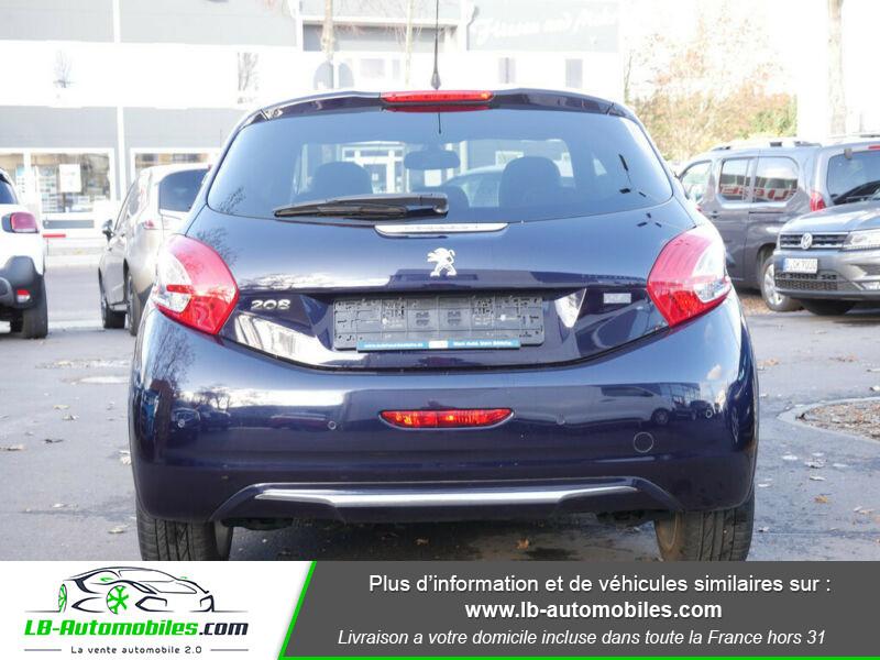 Peugeot 208 1.6 e-HDi 115 ch Bleu occasion à Beaupuy - photo n°13