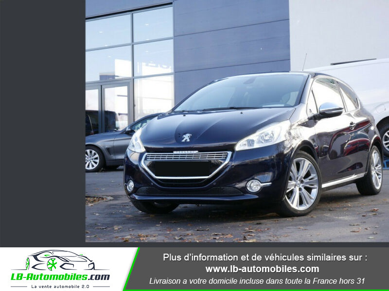 Peugeot 208 1.6 e-HDi 115 ch Bleu occasion à Beaupuy