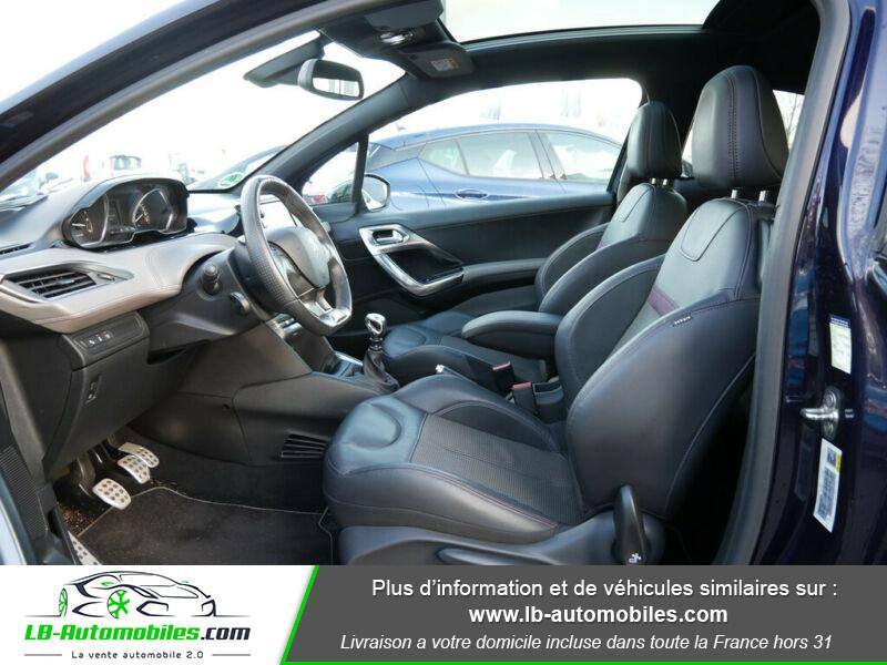 Peugeot 208 1.6 e-HDi 115 ch Bleu occasion à Beaupuy - photo n°3