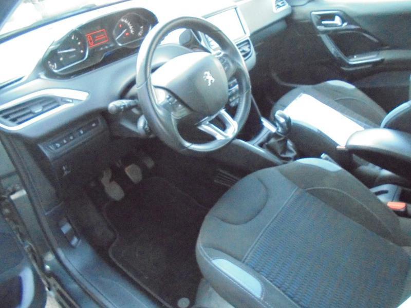 Peugeot 208 1.6 e-HDi FAP Business Pack 4cv 5p Gris occasion à Corbeil-Essonnes - photo n°14