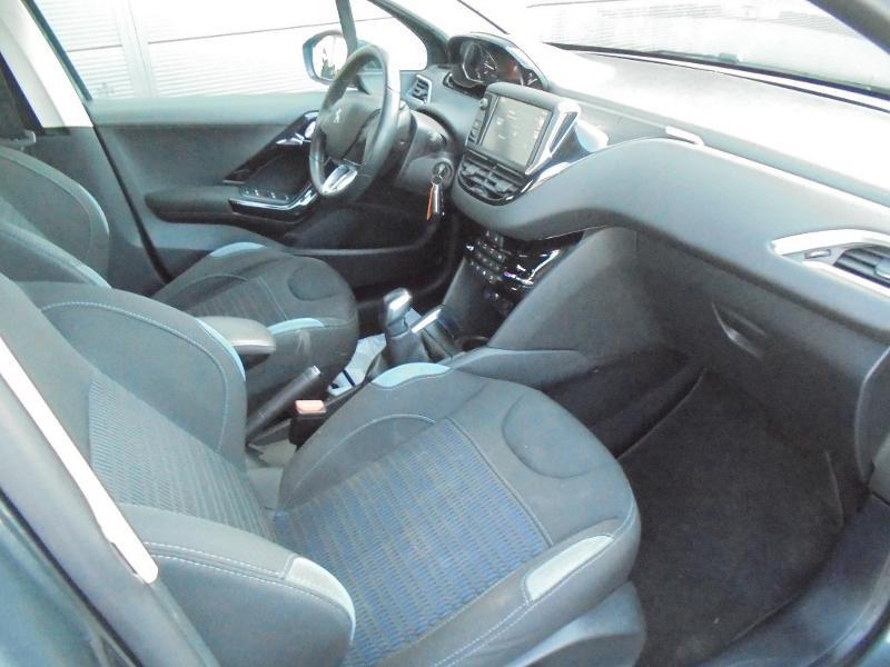 Peugeot 208 1.6 e-HDi FAP Business Pack 4cv 5p Gris occasion à Corbeil-Essonnes - photo n°8