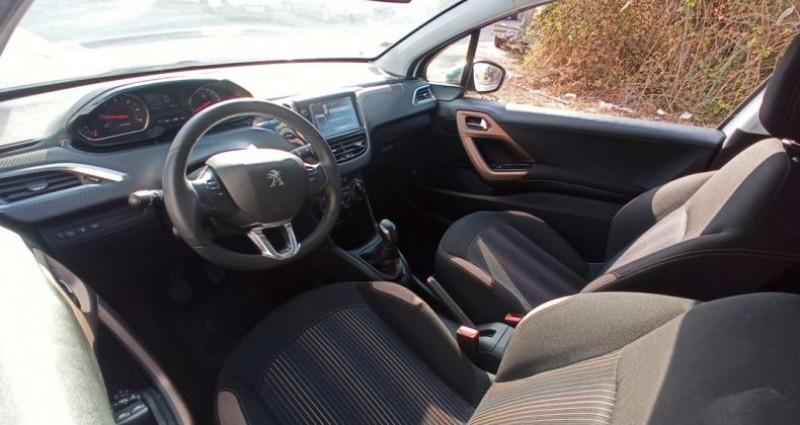 Peugeot 208 208, 1.6 HDI Style Blanc occasion à PERPIGNAN - photo n°4