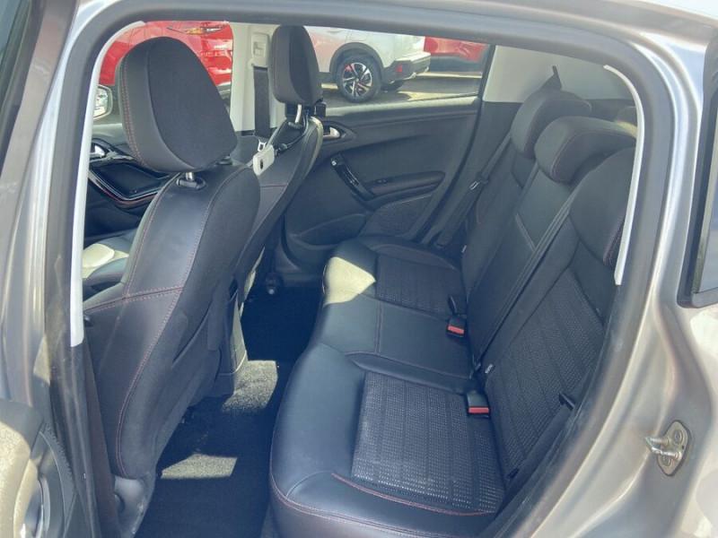 Peugeot 208 BlueHDi 100 GT LINE GPS Caméra Gris occasion à Montauban - photo n°4