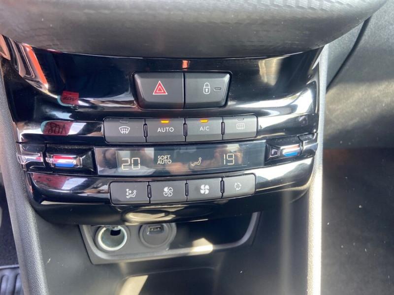 Peugeot 208 BlueHDi 100 GT LINE GPS Caméra Gris occasion à Montauban - photo n°11