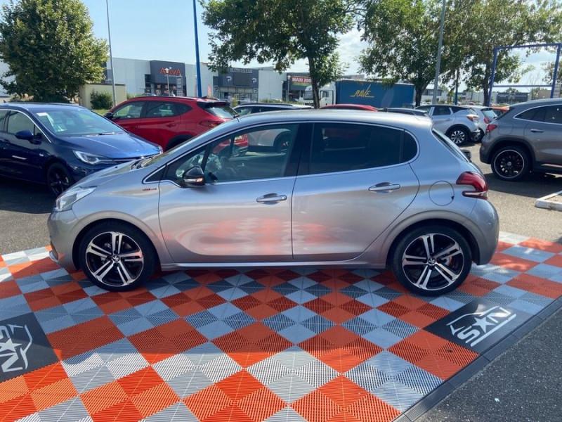 Peugeot 208 BlueHDi 100 GT LINE GPS Caméra Gris occasion à Montauban - photo n°5