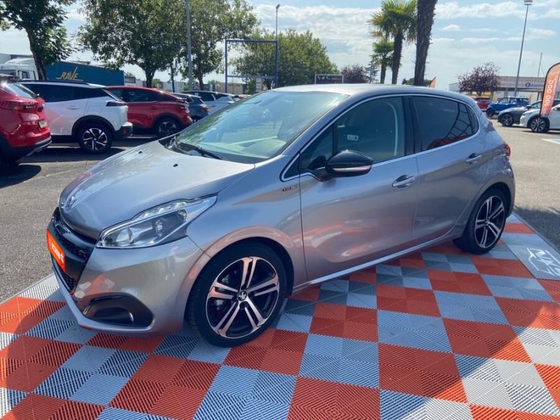 Peugeot 208 BlueHDi 100 GT LINE GPS Caméra Gris occasion à Montauban