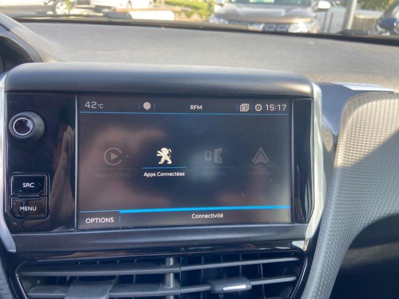 Peugeot 208 BlueHDi 100 GT LINE GPS Caméra Gris occasion à Montauban - photo n°19