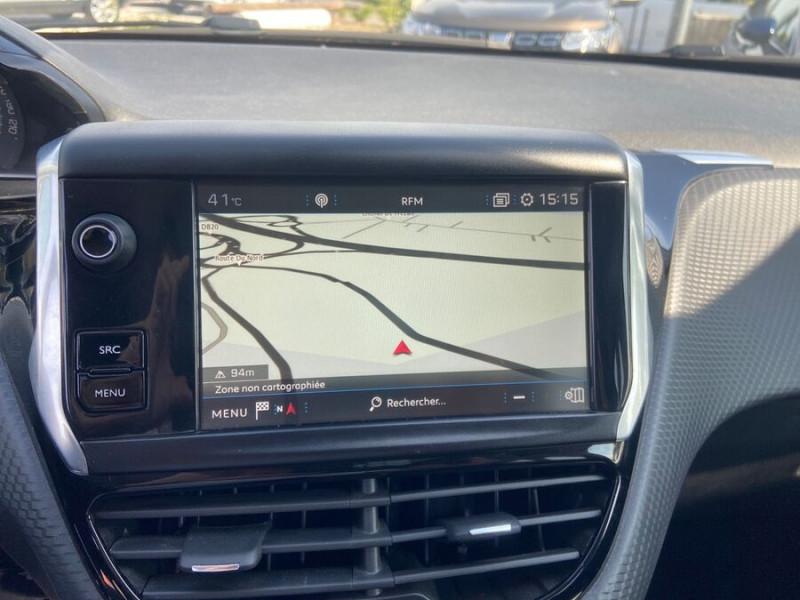 Peugeot 208 BlueHDi 100 GT LINE GPS Caméra Gris occasion à Montauban - photo n°12