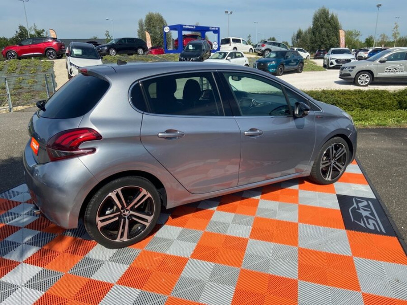 Peugeot 208 BlueHDi 100 GT LINE GPS Caméra Gris occasion à Montauban - photo n°2