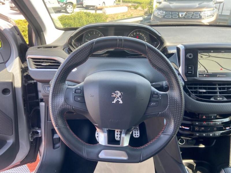 Peugeot 208 BlueHDi 100 GT LINE GPS Caméra Gris occasion à Montauban - photo n°13