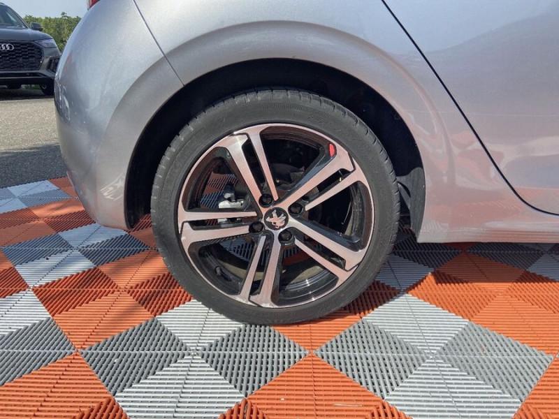 Peugeot 208 BlueHDi 100 GT LINE GPS Caméra Gris occasion à Montauban - photo n°8