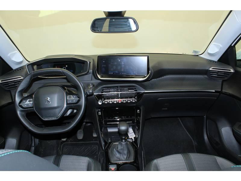 Peugeot 208 BlueHDi 100 S&S BVM6 Allure Blanc occasion à Saint-Pierre-du-Mont - photo n°8