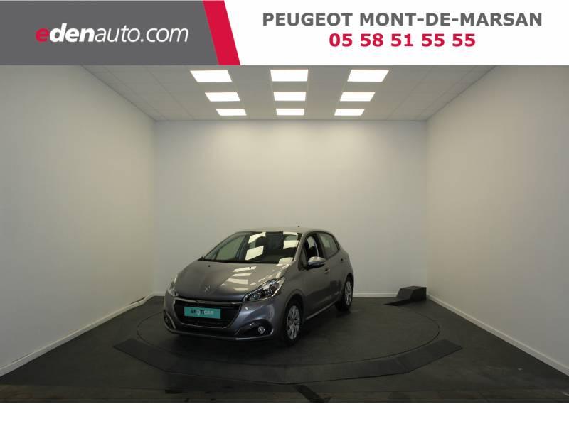 Peugeot 208 BlueHDi 100ch S&S BVM5 Active Gris occasion à Saint-Pierre-du-Mont