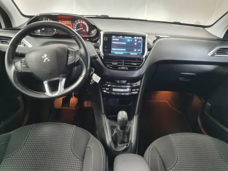 Peugeot 208 BlueHDi 100ch S&S BVM5 Allure Blanc occasion à Saint-Pierre-du-Mont - photo n°8
