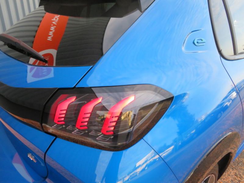 Peugeot 208 E-136CH GT Bleu occasion à Lormont - photo n°5