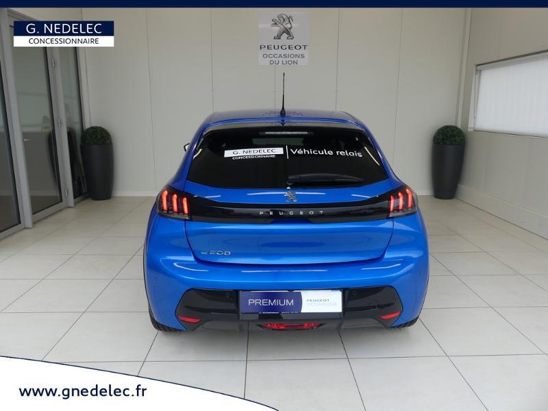 Peugeot 208 e-208 136ch Allure Bleu occasion à Quimperlé - photo n°5
