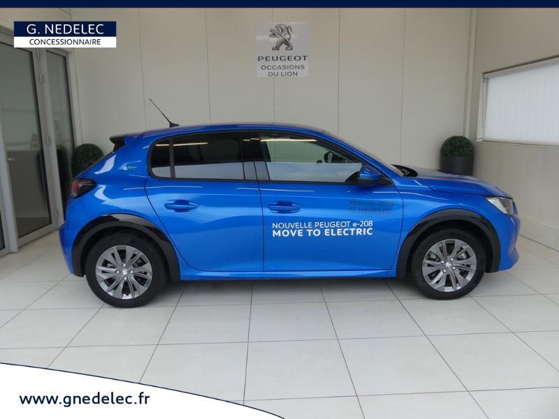 Peugeot 208 e-208 136ch Allure Bleu occasion à Quimperlé - photo n°4