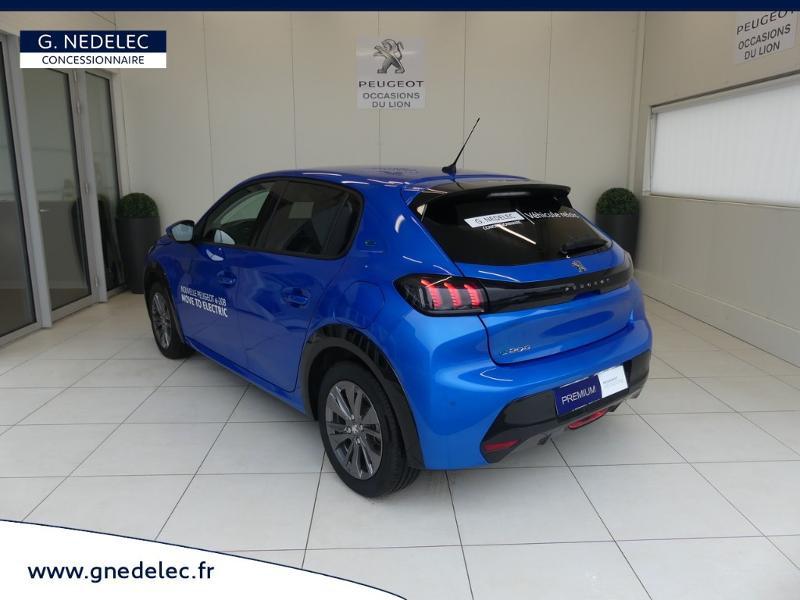 Peugeot 208 e-208 136ch Allure Bleu occasion à Quimperlé - photo n°7