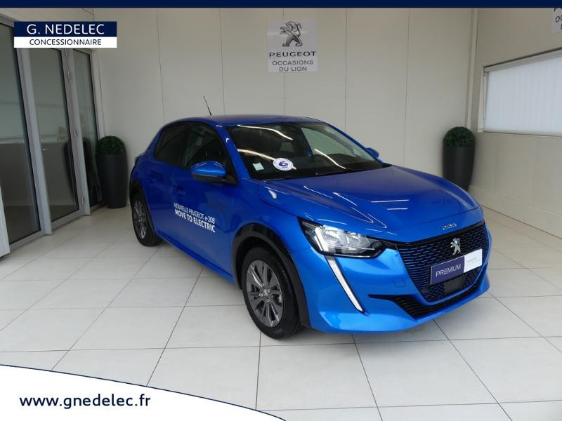 Peugeot 208 e-208 136ch Allure Bleu occasion à Quimperlé - photo n°3