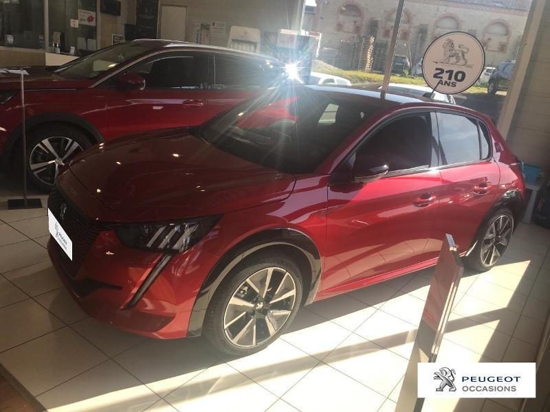 Peugeot 208 e-208 136ch GT Line Rouge occasion à MAZAMET